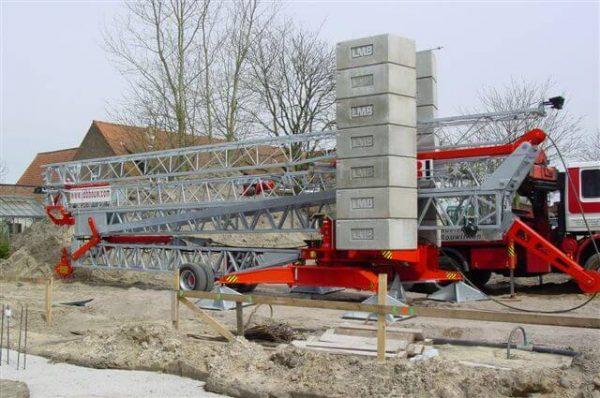 bouwkraan huren