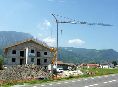 bouwkraan pittem